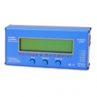 Battery Checker Balance Voltage Power Analyzer Watt Meter for R/C Helicopter - Blue