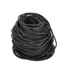 DIY 150-Core 18AWG Soft Silicone Electronic Cable - Black (30m)
