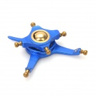 5-In-1 CNC Alloy Swashplate Upgrade Parts Set for WLToys V911 R/C Helicopter - Blue