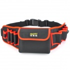 FASITE PT-N0064 Multi-Function Electrical Repairing Tool / Kit Storage Waist Bag - Black + Red