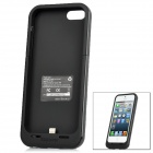 MOPOWER Externe 2200mAh Emergency Power Battery Charger Case für iPhone 5 - Black