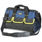 FASITE PT-N003 Multi-Function Electrical Tool Kit Storage Hand Bag - Black + Yellow + Deep Blue