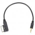 SJT AMI-03 AMI Male to 3.5mm Plug Audio Cable for Audi - Black