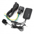 H020 Multi-Function 850 / 900 / 1800 / 1900NGz GMS / GPS Vehicle Tracker w/ Microphone - Black