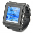 "AOKE 912 Watch Phone w/ 1.44"" Resistive Screen + Camera + E-Book + Single-SIM + Bluetooth - Black"