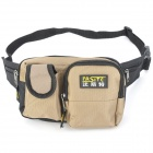 FASITE PT-N054 Multi-Function Electrical Repairing Tool / Kit Storage Waist Bag - Black + Khaki