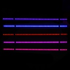 DEEBOW Dee-04 1.8W T4 44-LED Red + Blue + Purple Electronic Submerged Lamp