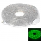 72W 2400lm 515~525nm 600-SMD 3528 LED Green Light Decorative Lamp Strip - Translucent (10m)