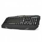 AULA DZI USB Wired 120-Key Game Multi-Media Keyboard - Black