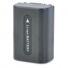 ismartdigi FV-50 7.2V 1030mAh Camera Battery for Sony HDR-CX560V / HDR-HC7 + More - Black