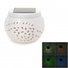 Maple Pattern 1W 6lm 5500 ~ 6000K 2-LED White + RGB Dekoleuchten - White