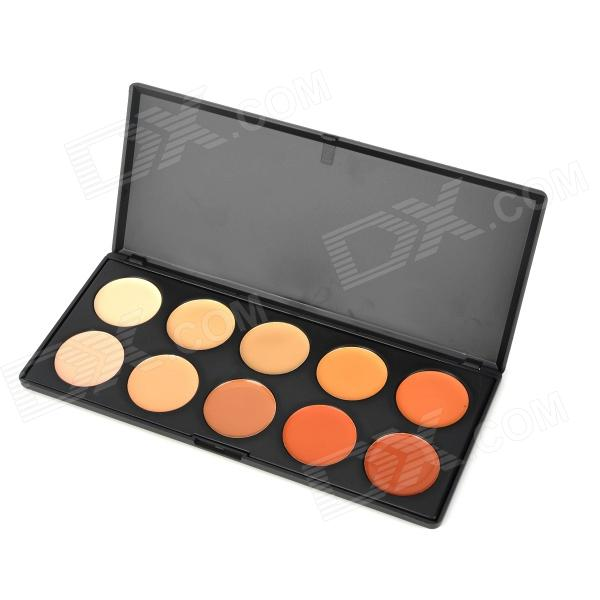 Professional Recommendation Cosmetic Make Up 10-color Concealer / Foundation Cream Set