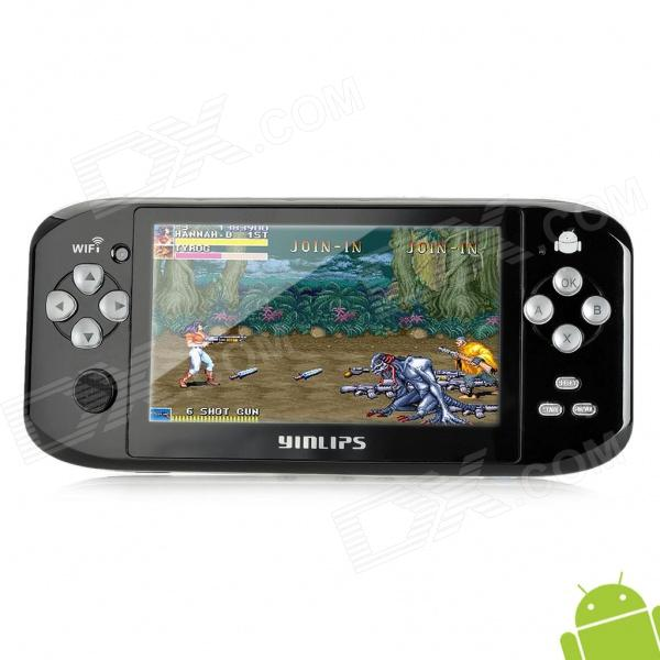 "YINLIPS G17 4.3"" TFT Two-Point Touch Android 4.0 Tablet PC HD Game Pad w/ HDMI / Dual Camera - Black"