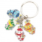 Acero inoxidable Chinese Zodiac Keychain (Dragon)