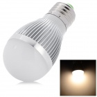 DB-CE315-5W E27 450lm 3000 ~ 3500K 10-5630 LED Warm White Light Bulb - Silver (89 ~ 265V)