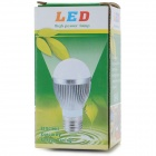 DB-CE315-5W E27 450lm 3000~3500K 10-5630 LED Warm White Light Bulb - Silver (89~265V)