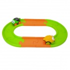 BAIYUAN 889-2 Insect Style Electric Rail Car - Green + Orange + Yellow + Black (1 x AAA)