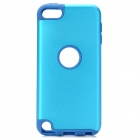 Protective Plastic + Silicone Back Case for Ipod Touch 5 - Blue