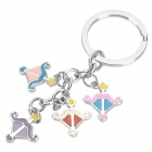 Buy Stainless Steel Colorful Zodiac Keychain (Sagittarius)
