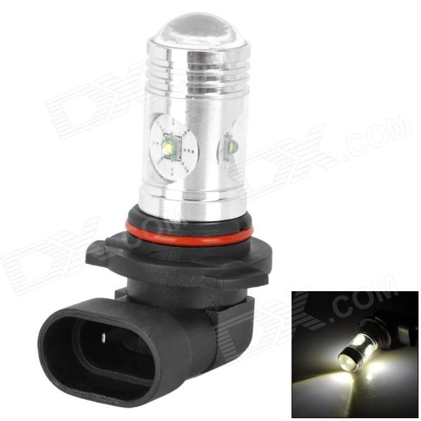 9006 12W 650lm 4-LED White Light Car Foglight Lamp w/ Cree XP-E - Silver + Red + Black (DC 12~24V) h1 11w h1 11w 350lm white light car foglight w 1 cree xp e 4 led 12 24v