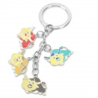Stainless Steel Chinese Zodiac Keychain (Ox)