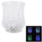 SY1169 Creative LED Lighting 8-Facets Table-glass / Cup - Transparent