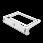 GTcoupe W-068 Multi-Functional Rechargeable 2000mAh Blue Light Charger Stand for Wii Fit - White