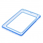 Unique Protective Plastic + Silicone Bumper Frame for iPad Mini - Blue