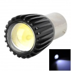 1526 3W 210lm 1-SMD LED White Light Steering / Backup Lamp - Black + Silver (DC 12V)