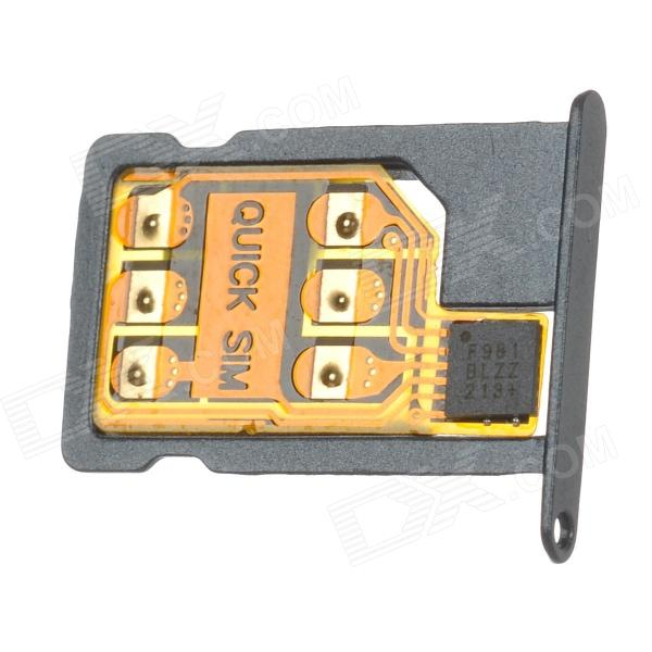 Unlock SIM Card for Iphone 5 - Grey + Yellow