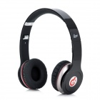 Syllable G05-001 Wired Bass Headphones w/ Microphone for iPhone 4 / 4S - Black (3.5mm Plug / 1.2m)