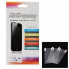 Protective PET Clear Screen Protector Guard Films for Sony Xperia Z L36H - Transparent (3 PCS)