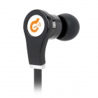 Syllable G03-001 Wired 3.5mm Jack In-Ear Earphones for Iphone 5 / Ipod / Ipad / MP3 - Black (115cm)