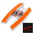 YI-251 2.2W 90lm 18-LED Yellow Car Steering / Decoration Turning Side Marker Lamp - Yellow + Silver
