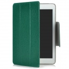 Protective 3-Fold PU Leather Case for Ipad MINI - Green