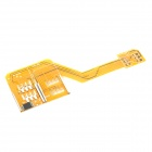 Triple SIM Cards Adapter for IPHONE 4 / 4S - Yellow