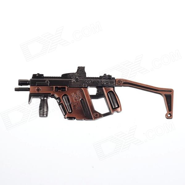 Cool Toy Guns : Z cool zinc alloy assembly mini gun toy red copper
