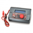 SKYRC 6X80 Plus Digital Intelligent Charger / Lithium Battery Meter / Motor RPM Servo Tester - Black