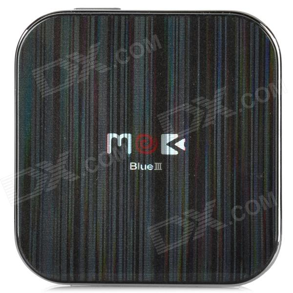 DIWEINUO Mokablue Third Generation Bluetooth v2.1 GSM Apple Peel - Black + Silver