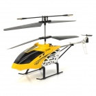 Rechargeable 3-CH IR Remote Controlled R/C Helicopter - Yellow + Black