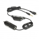 Car FM Transmitter for Iphone / Ipad / Ipod - Black (88.1-107.9MHz)