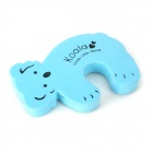 Animal Shaped Baby Door Guards Finger Protector Stopper - Blue