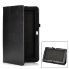 "Protective PU Leather Case for 11.6"" Samsung XE500T - Black"