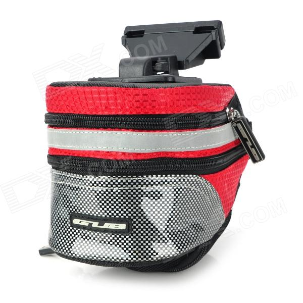 GUB 3342 Multifunction Waterproof Bicycle / Bike Tail Bag - Red + Black gub 3342 multifunction waterproof bicycle bike tail bag grey black