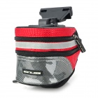 GUB 3342 Multifunction Waterproof Bicycle / Bike Tail Bag - Red + Black