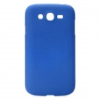 Quicksand Style Protective Plastic Hard Back Case for Samsung Galaxy Grand i9080 / Duos i9082 - Blue