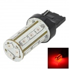YT1311300 T20 8W 420lm 625nm 18-5730 SMD LED Red Light Car Light Foglight / Freio - (DC 12 ~ 24V)