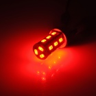 YT1311300 T20 8W 420lm 625nm 18-SMD 5730 LED Red Light Car Foglight / Brake Light - (DC 12~24V)