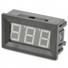 "V27D 0.56"" LCD 3-Digit Digital Voltmeter for Electric Motorcycle - Black (4.5~150V)"