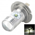 H719603 H7 12W 670lm LED White Light Car Foglight w/ 4-CREE XP-E - (DC 12~24V)